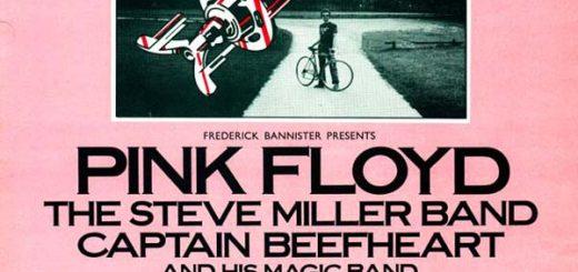5.7.1975 Pink Floyd Knebworth Poster