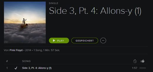 The Endless River - Allons-y (1) - Spotify
