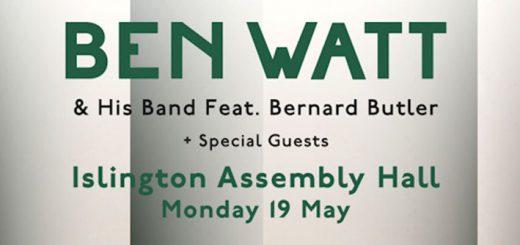 Ben Watt 19.5.2014 London