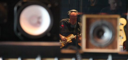 Gilmour im Studio