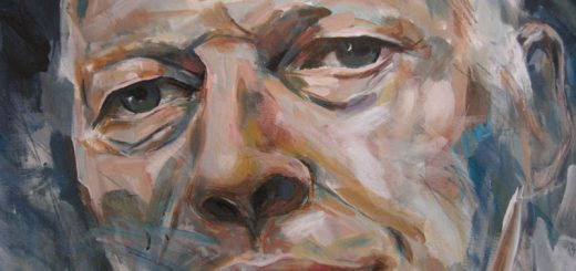 David Gilmour Portait von Helmut Sailer (2010)