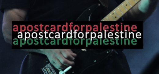 David Gilmour - Postcard for Palestine