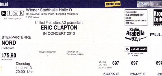 Eric Clapton - Wien 2013