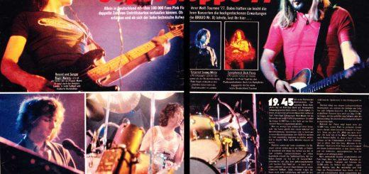 Pink Floyd - Musikexpress 1977