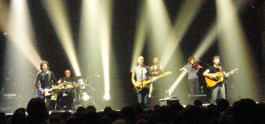 Dominic Miller mit Sting 2012 in München