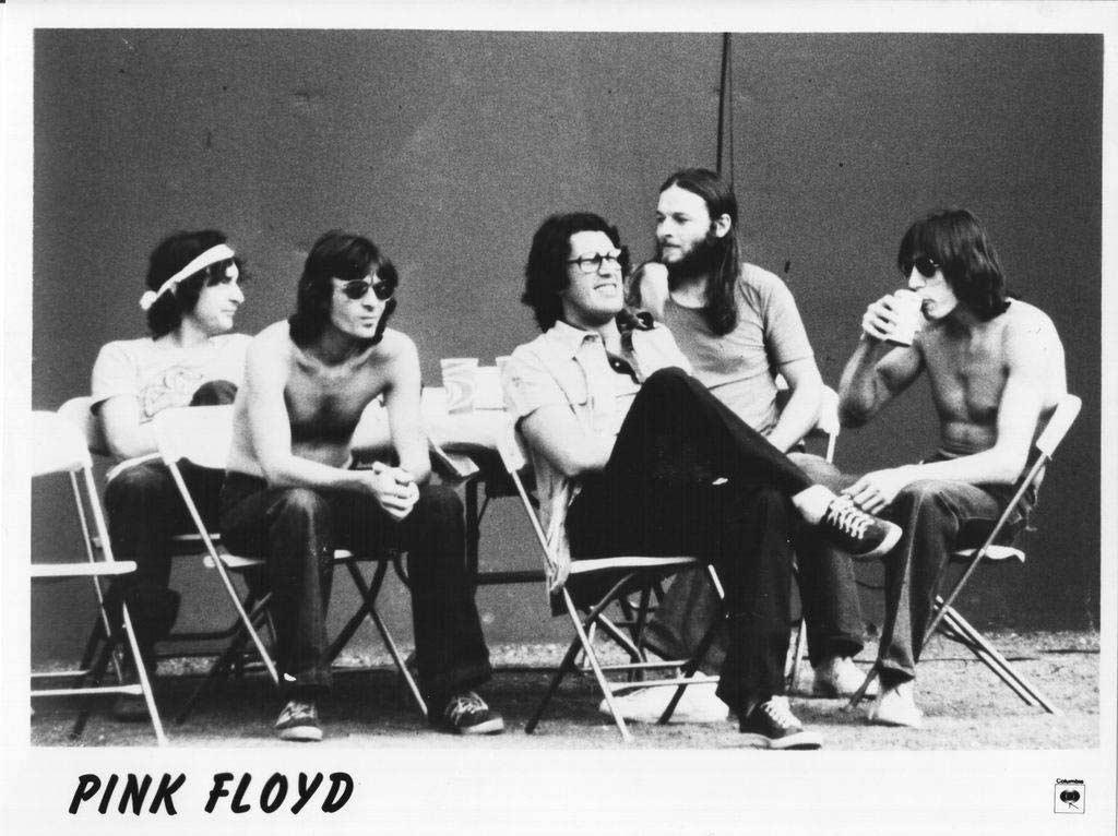 1975 Pink Floyd Backstage