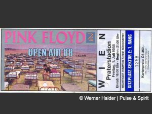 Pink Floyd 1.7.1988 Wien Ticket