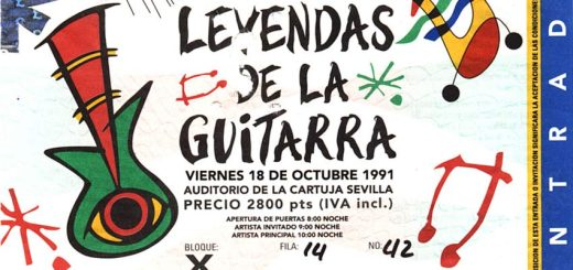 Roger Waters 18.10.1991 Sevilla Ticket