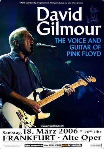 David Gilmour 18.3.2006 Frankfurt Alte Oper