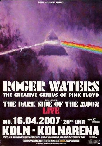 2007 Roger Waters Köln Poster