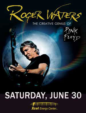 2007 Roger Waters St. Paul Poster
