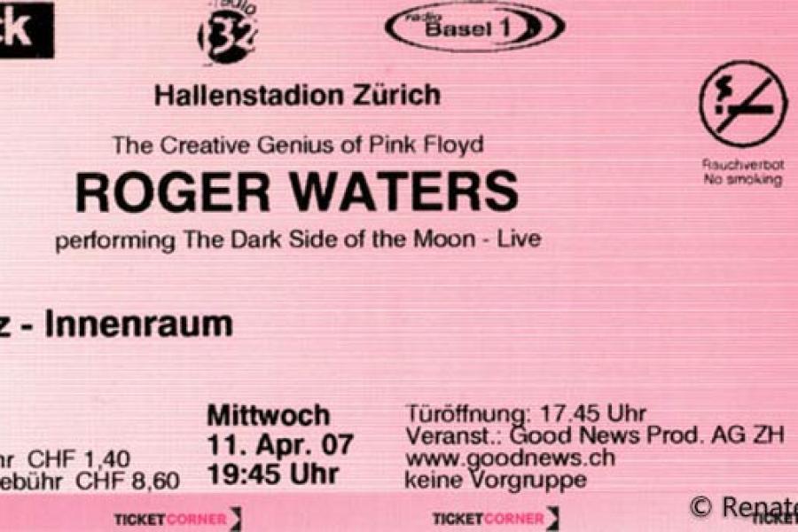 Tickets Pulse Spirit Pink Floyd News
