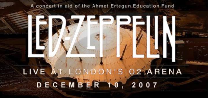 Led Zeppelin 10.12.2007 London O2 Arena