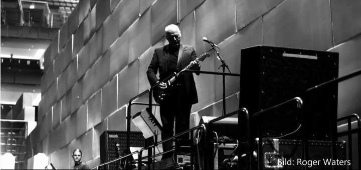 Roger Waters, David Gilmour 12.5.2011 London Os Arena