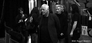 Roger Waters, David Gilmour 12.5.2011 London