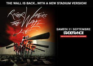 Roger Waters 21.9.2013 Paris Poster