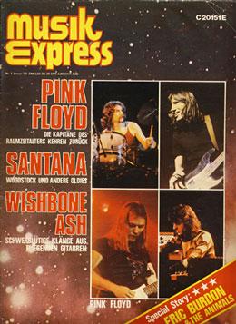 Pink Floyd - Musik Express 1977