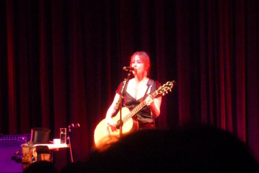 Suzanne Vega 2.8.2014 Ebensee