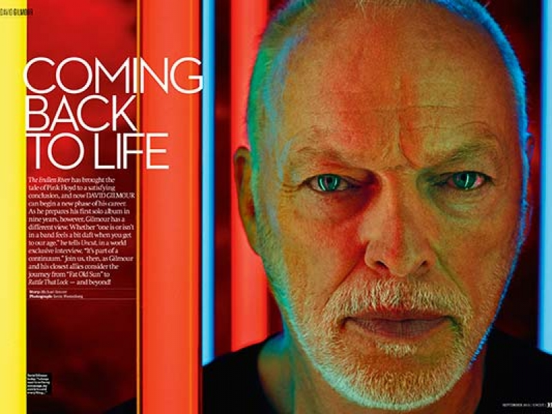 David Gilmour - Uncut 2015