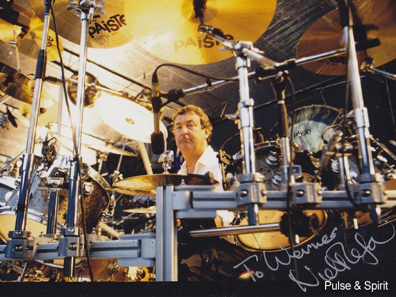 Nick Mason 1994 Autogramm