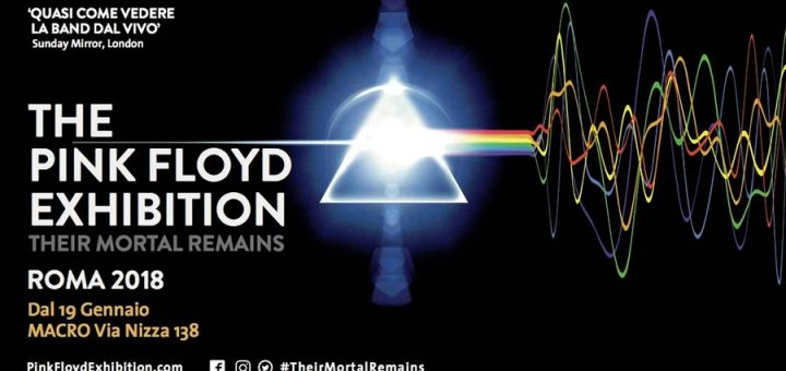 Pink Floyd 2018 Exhibition Rom Poster