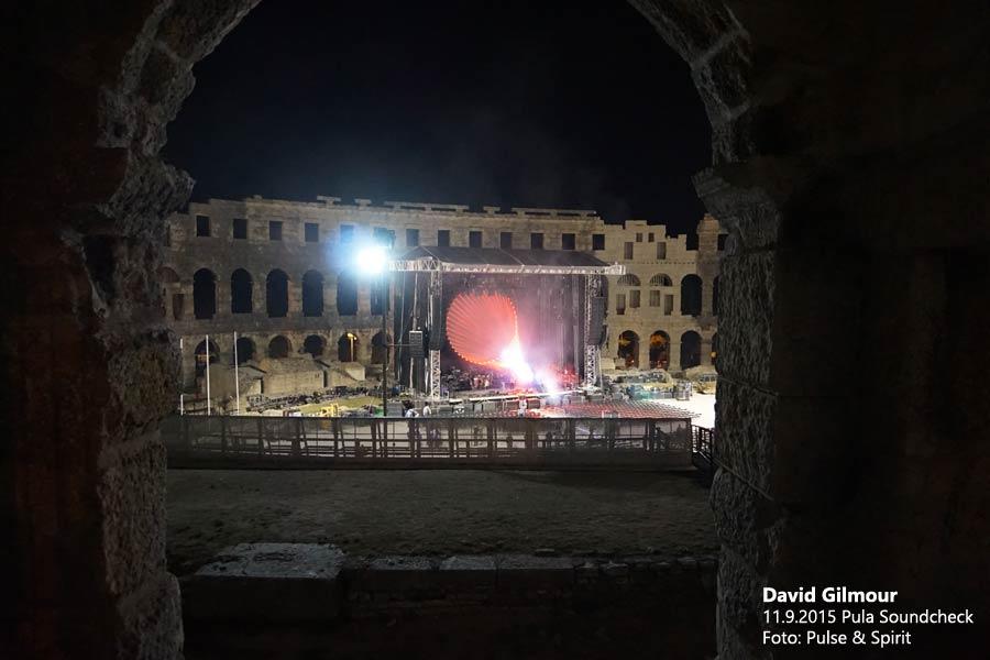 David Gilmour 11.9.2015 Pula