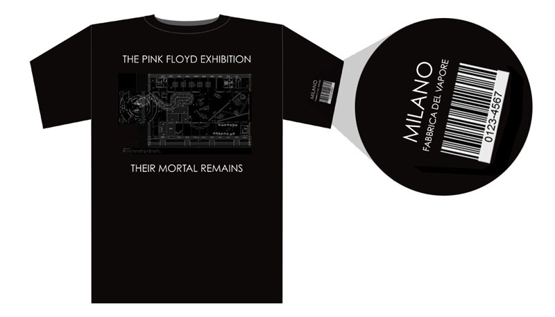 Pink Floyd Exhibition 2014 Mailand T-Shirt