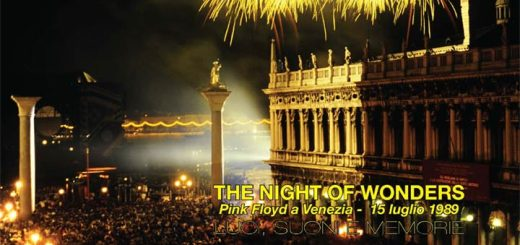 The Night Of Wonders – Pink Floyd A Venezia