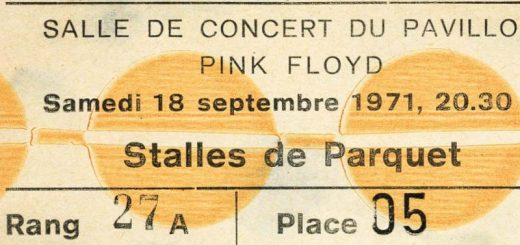 Pink Floyd 18.9.1971 Montreux