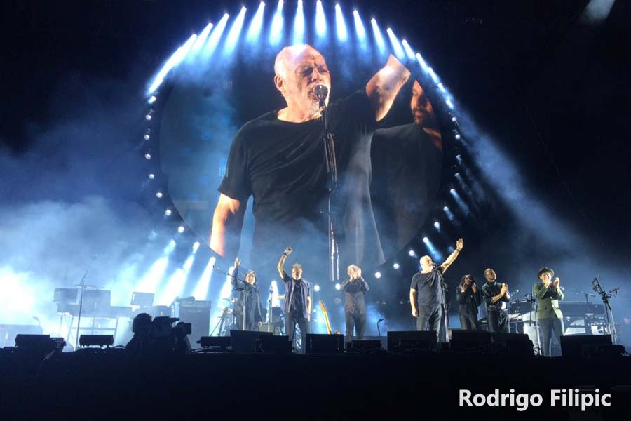 David Gilmour 20.12.2015 Santiago De Chile