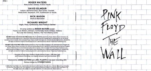 The Wall CD Reissue 2016