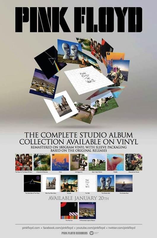 Pink Floyd Vinyl Collection