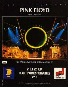 1988 Pink Floyd Versailles