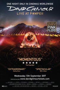David Gilmour Live at Pompeii Cinema