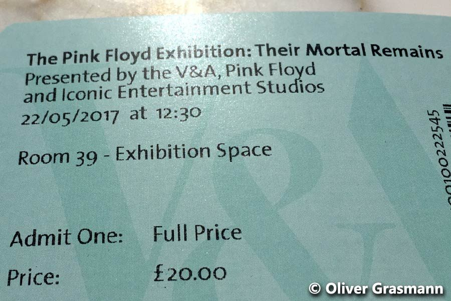 Pink Floyd Their Mortal Remains Exhibition