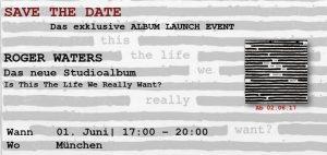 Roger Waters - Sony Album Launch