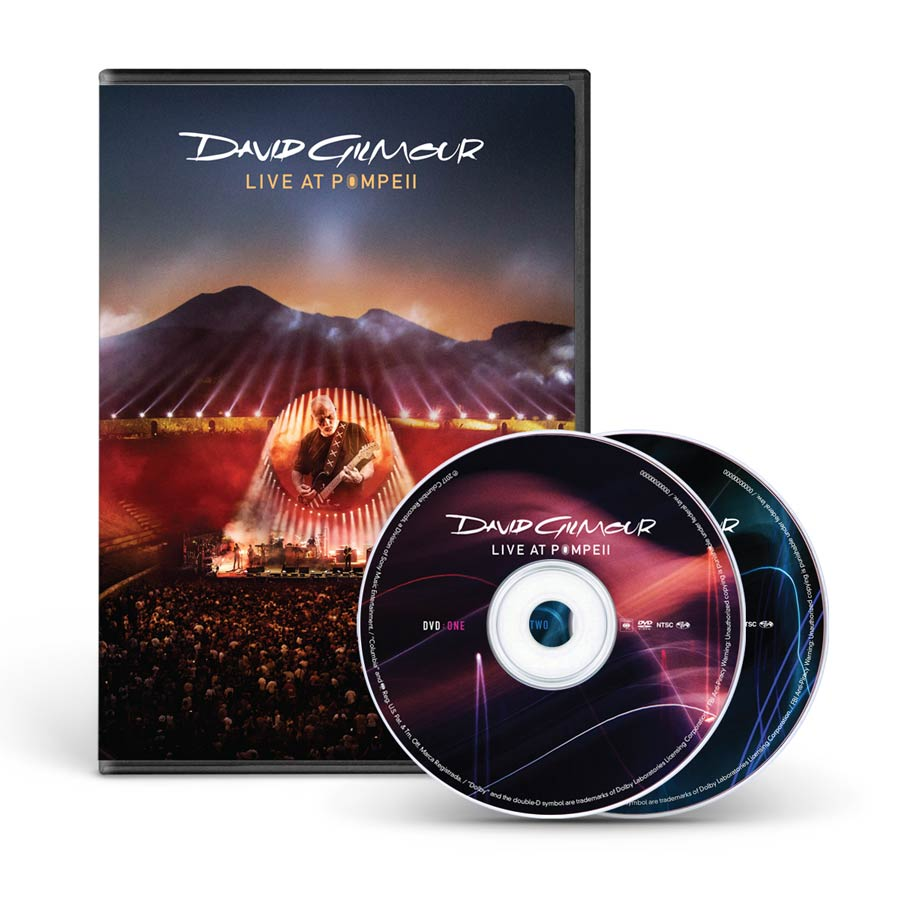 David Gilmour Live At Pompeii Dvd