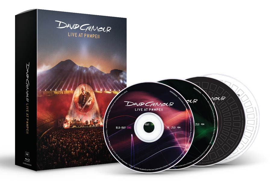 David Gilmour - Live at Pompeii Deluxe