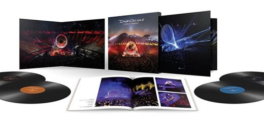 David Gilmour Live at Pompeii Vinyl