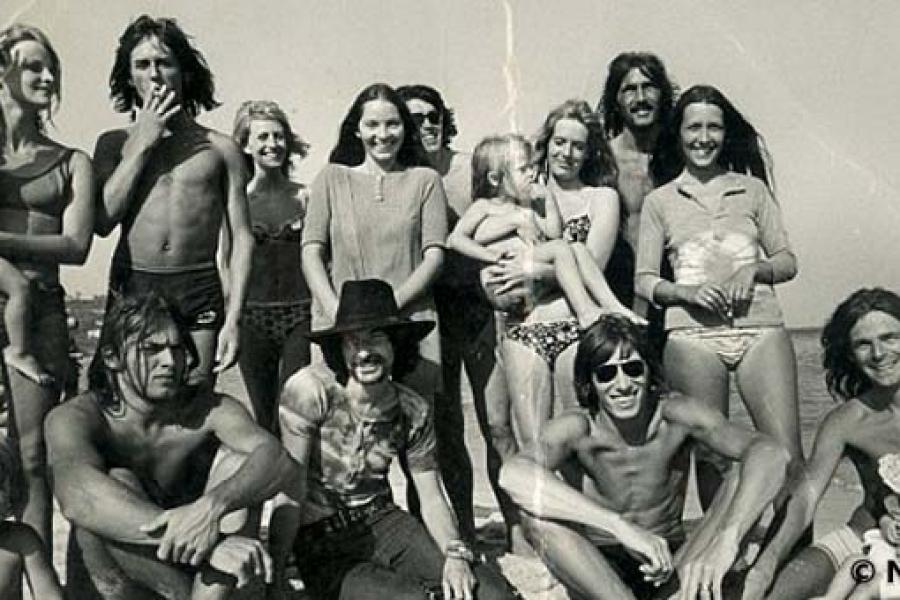 Pink Floyd 1970 San Tropez
