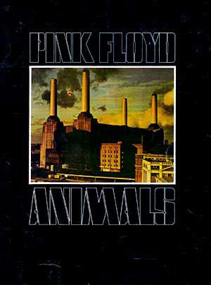 Pink Floyd 1977 Tourprogramm
