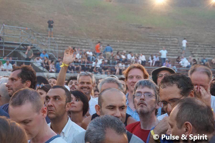 David Gilmour 8.7.2016 Pompeii