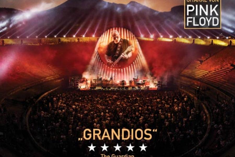 David Gilmour Pompeii im Kino