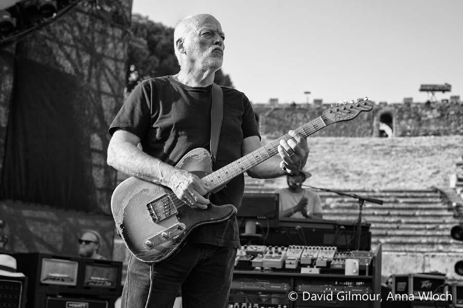 David Gilmour Live At Pompeii, Foto: Anna Wloch
