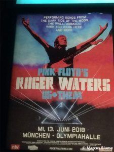 Roger Waters 2018 München Poster