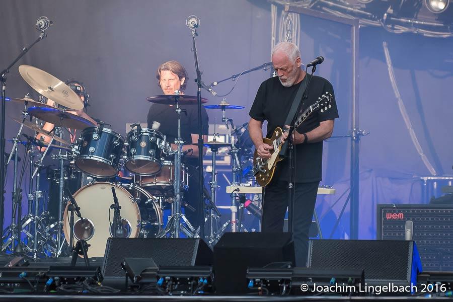 David Gilmour 14.7.2016 Stuttgart