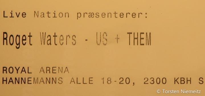 Roger Waters 2018 Kopenhagen Ticket
