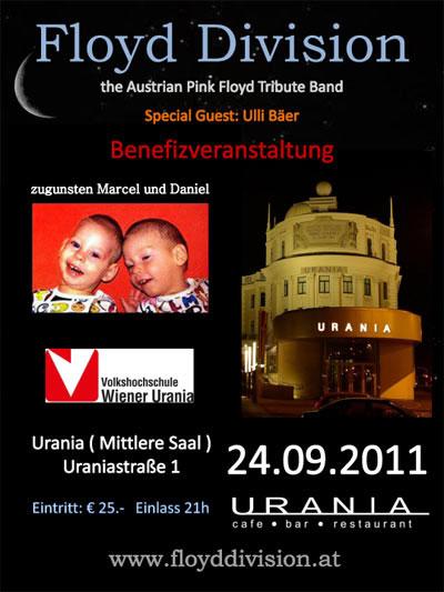 Floyd Divison & Ulli Bäer 24.9.2011 Wien Urania