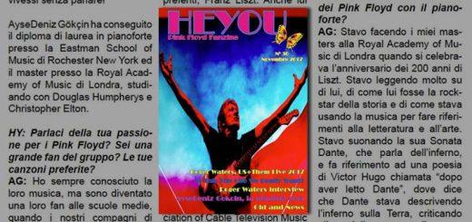Heyou 30 - Pink Floyd Italian & English fanzine