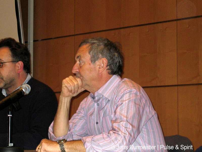 Nick Mason 17.3.2006 Leipzig
